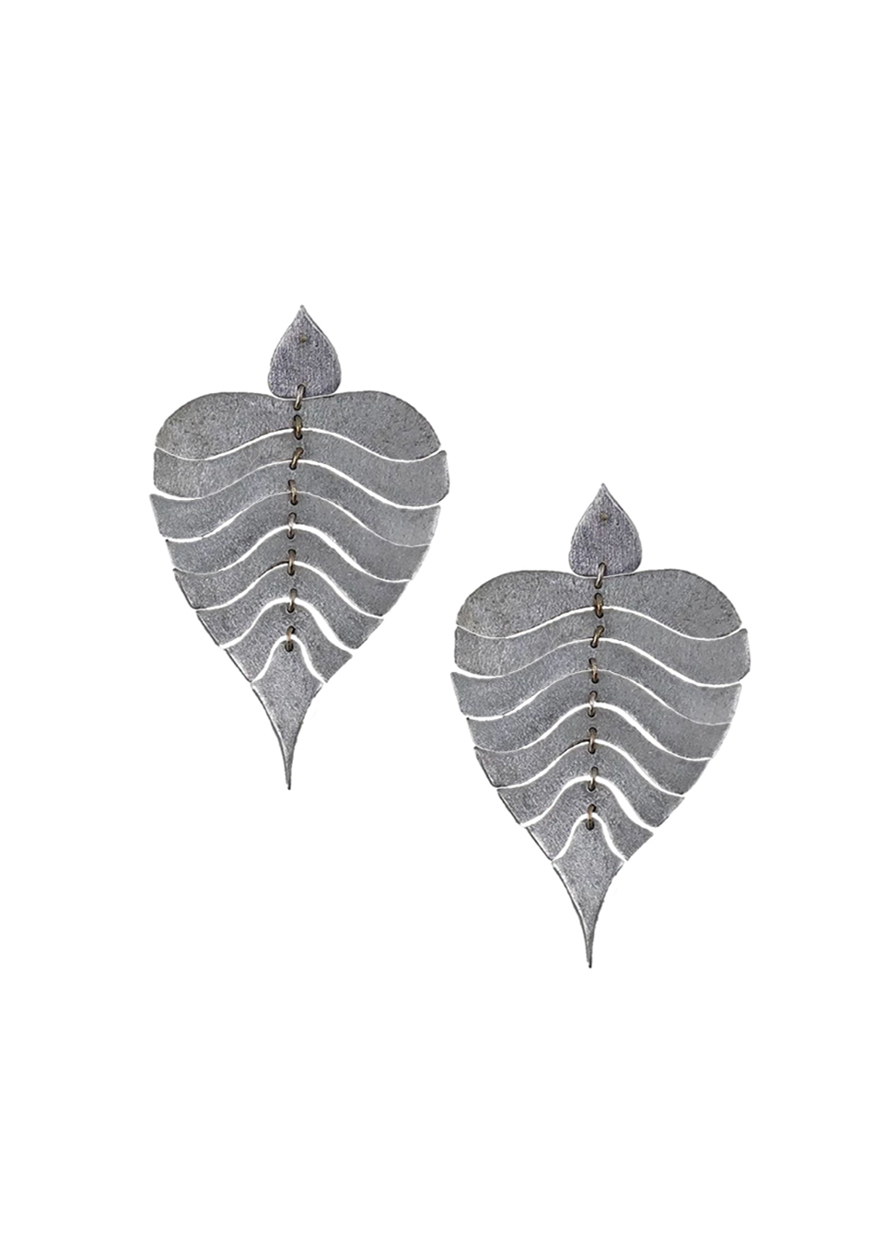 In The Breeze - Bodhi Leaf Earrings