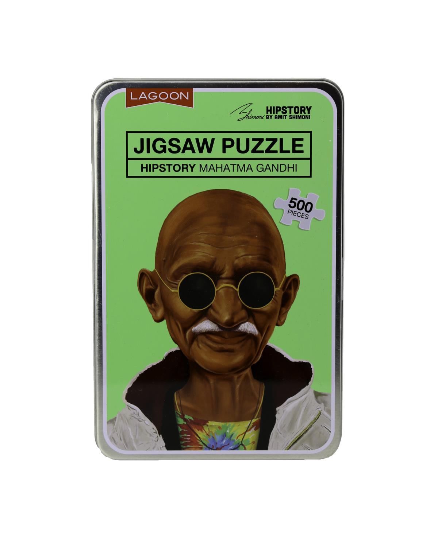 Hipstory Jigsaw Puzzle Gandhi