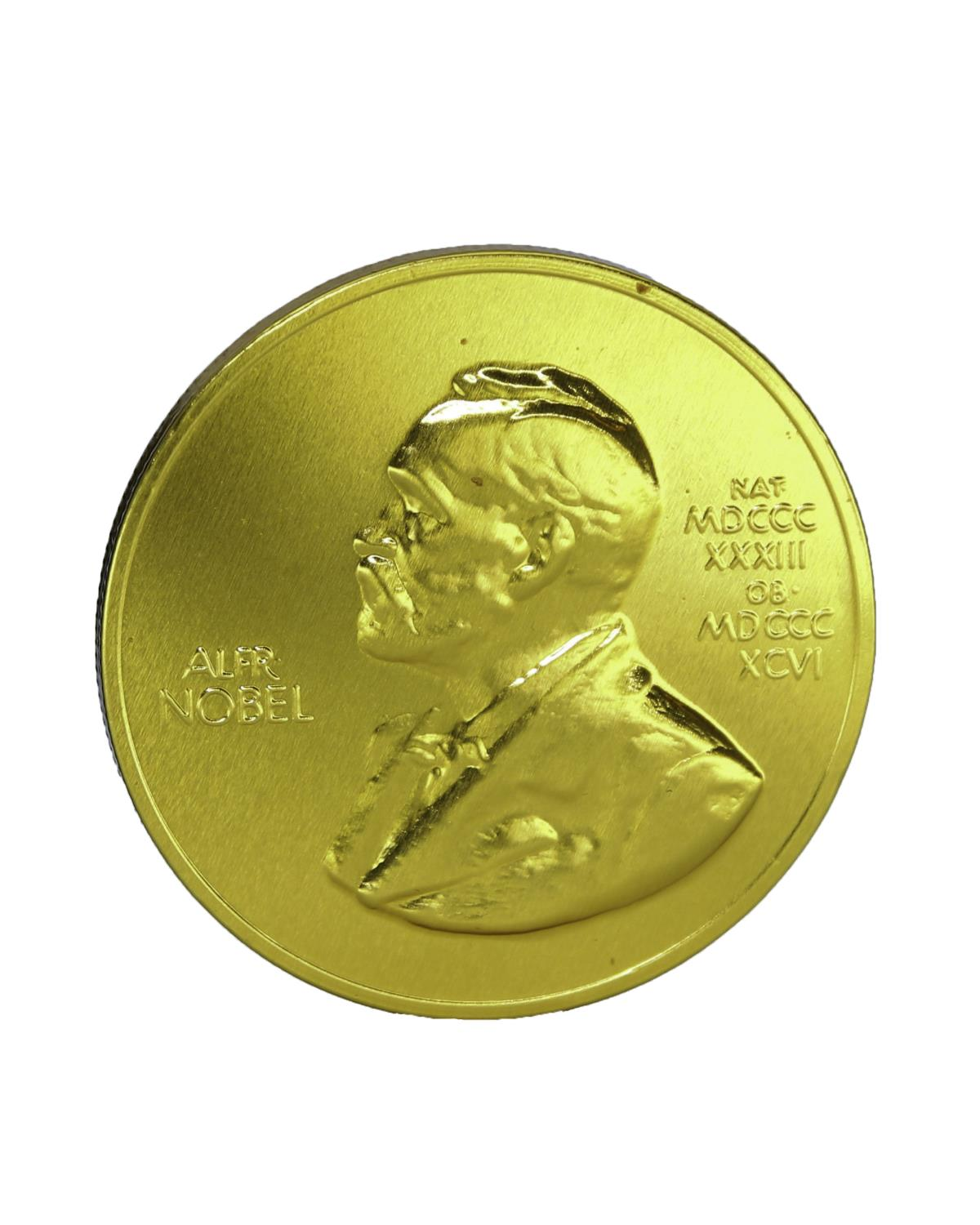 Nobel Chocolate Medal