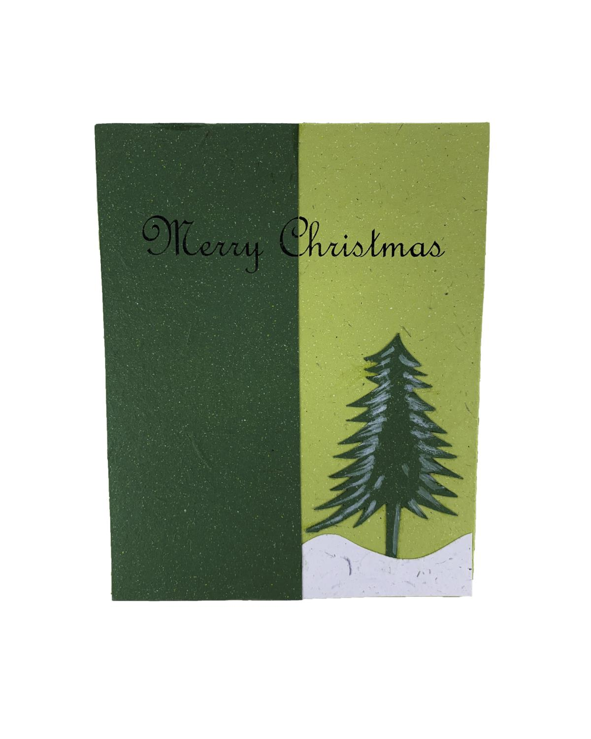 Elecosy Christmas Card Merry Christmas
