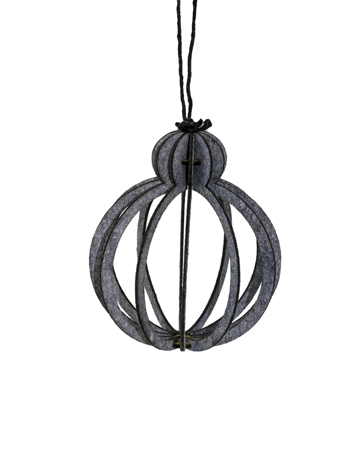 Oohh Eco-felt hanging ornaments Bulb