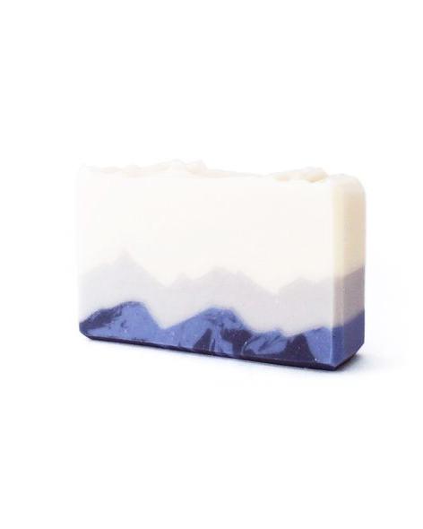 Berget Det Blå Såpe