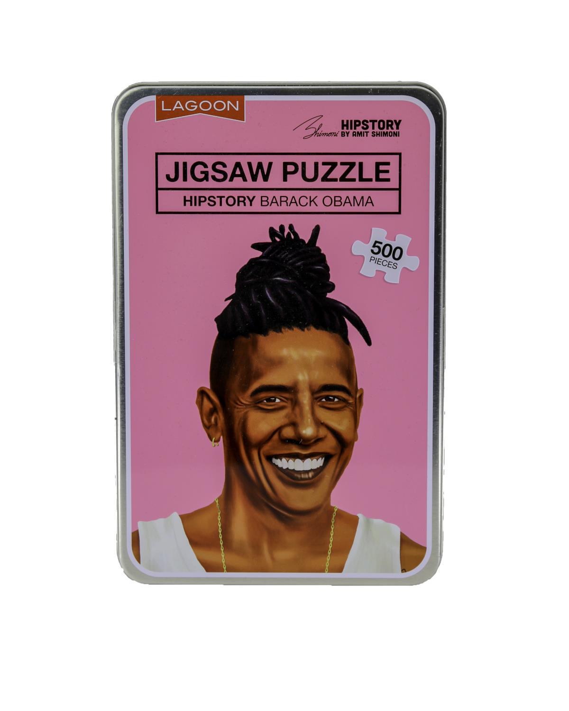 Hipstory Jigsaw Puzzle Obama
