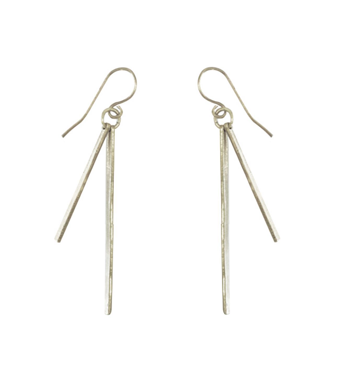 Sierra Earrings Rhodium