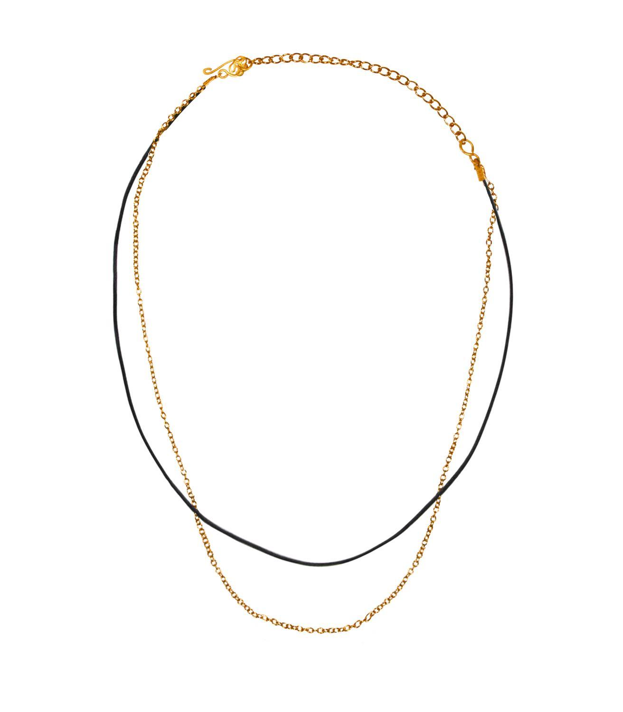 Lola Necklace Goldtoned Brass