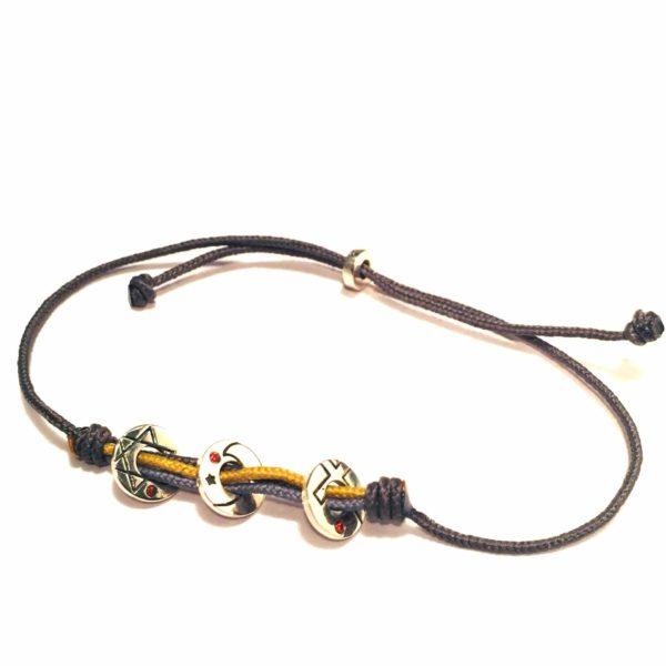 Coexista bracelet Grey/Silver
