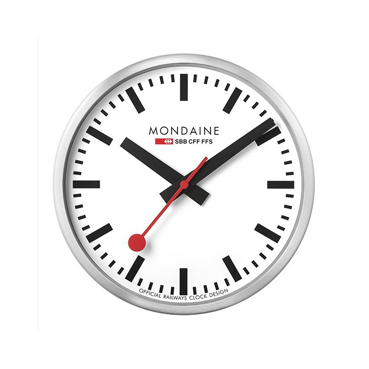Mondaine Wall Clock 25 cm Alu