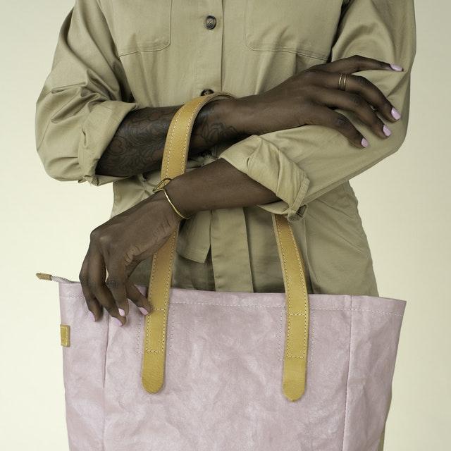 Uashmama Shine Bag Rosa Lux Quarzo