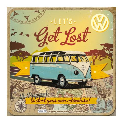 Volkswagen Bulli Get Lost Coaster