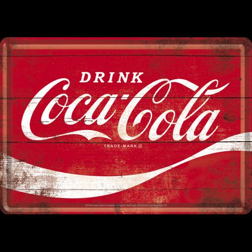 Coca-Cola 1960s Postkort 10x14cm