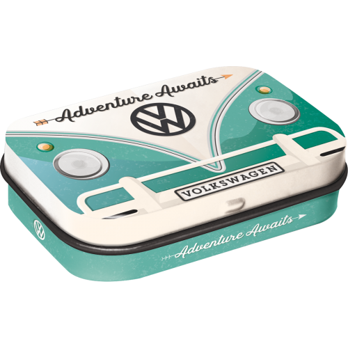 Volkswagen Bulli adventure awaits mint box