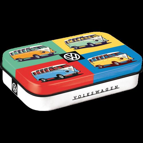 Volkswagen Bulli pop art mint box XL