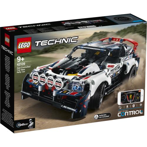App-styrt Top Gear-rallybil