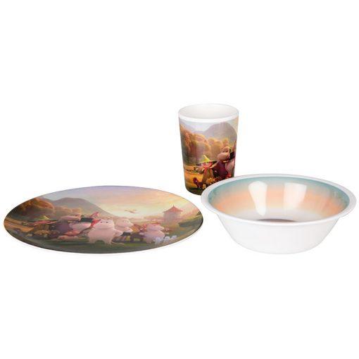 Mummi service Mummidalen glass/skål/tallerken