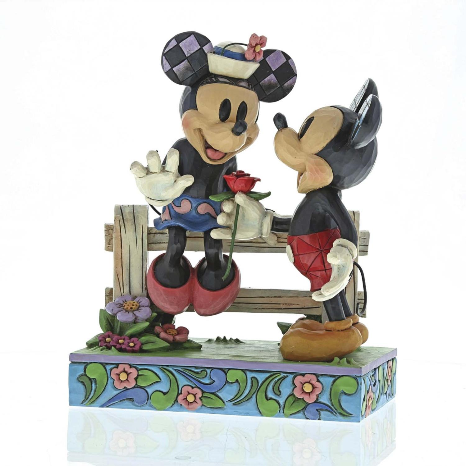 Blossoming Romance Mickey & Minnie