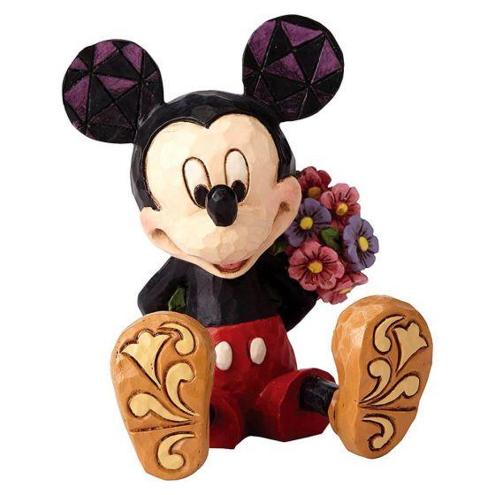 Mini Mickey w/flower