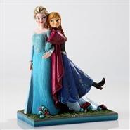 Elsa og Anna - porselensfigur