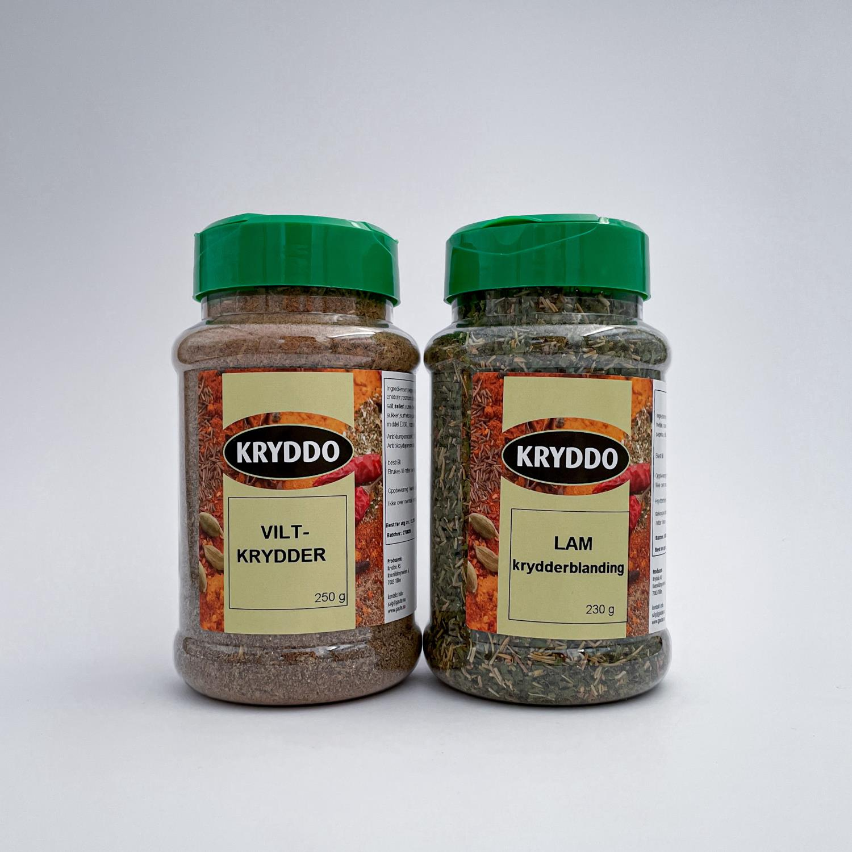 Krydderpakke: Vilt- og lam krydderblanding
