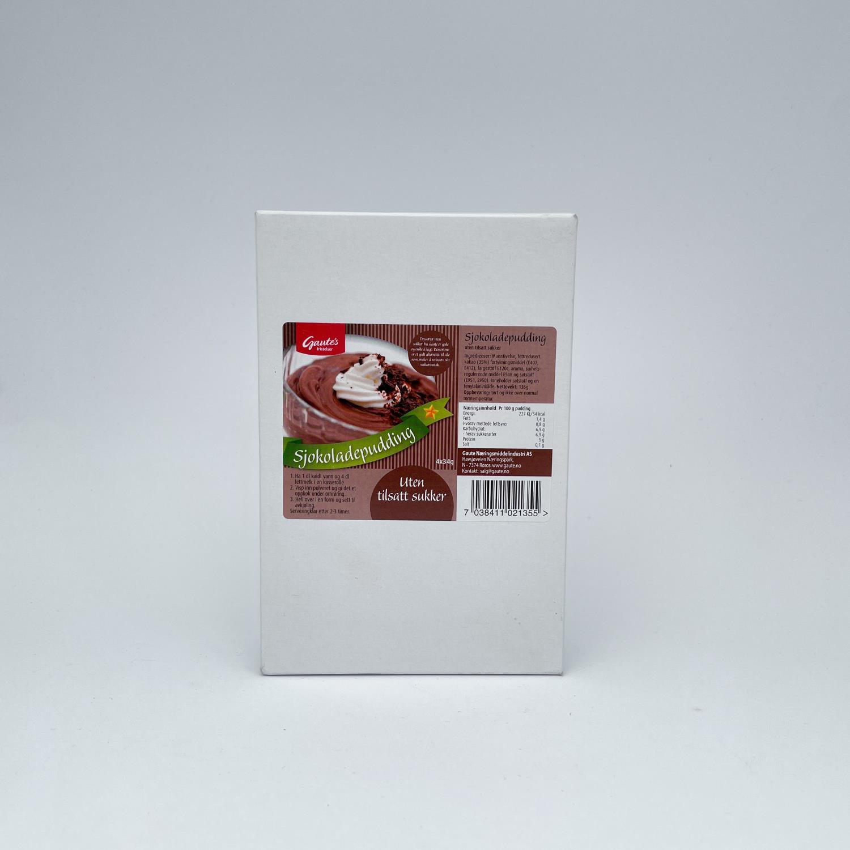 Sjokoladepudding uten tilsatt sukker, 4 pk