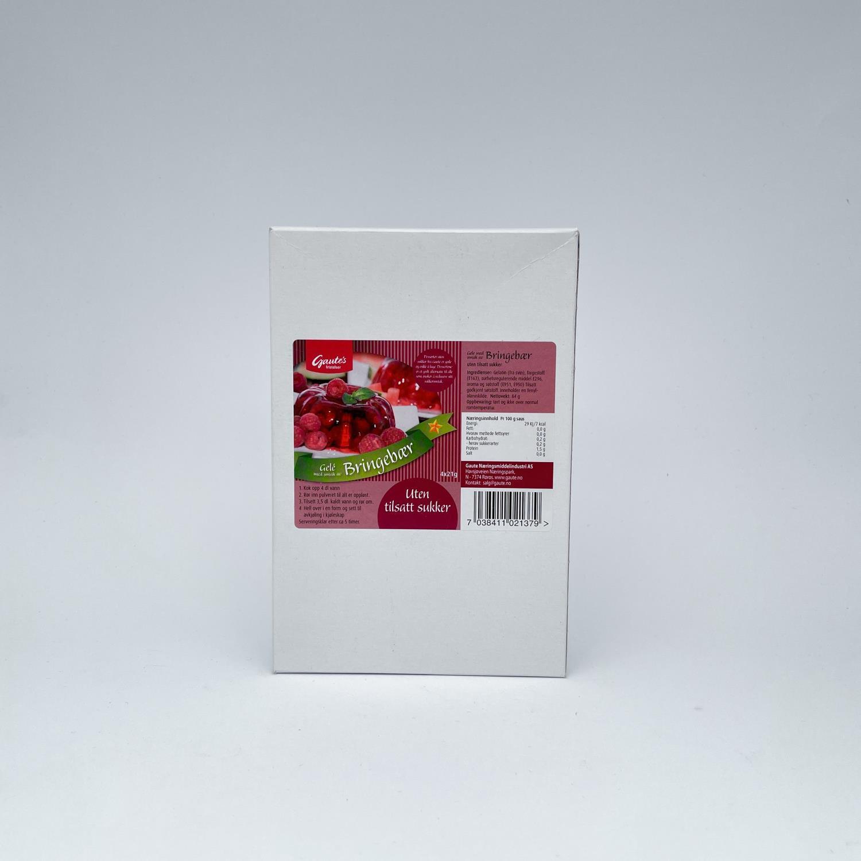 Gelé med smak av bringebær uten sukker 4 pk