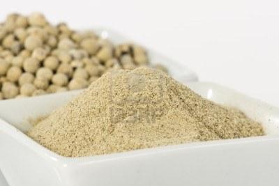 Pepper Hvit malt 250 gram i boks