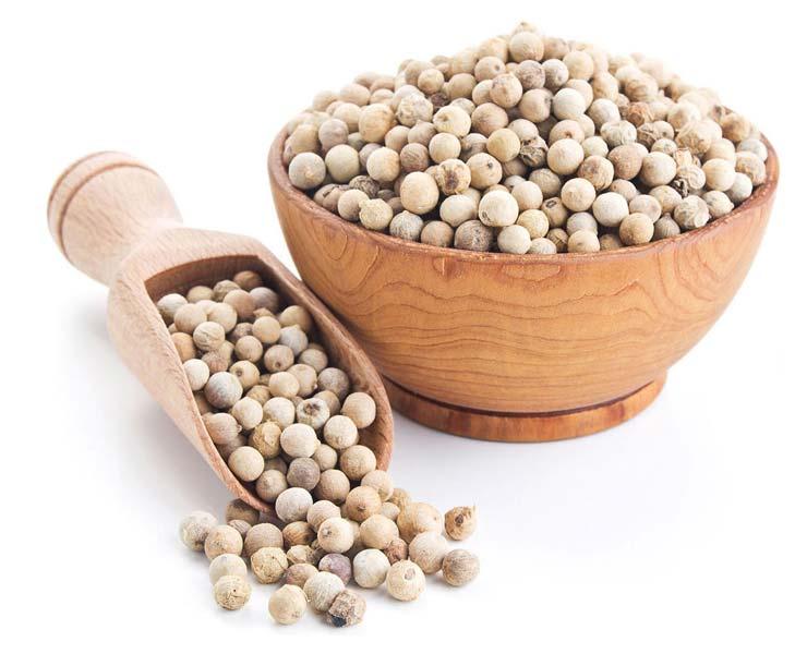 Pepper hvit hel 500 gram