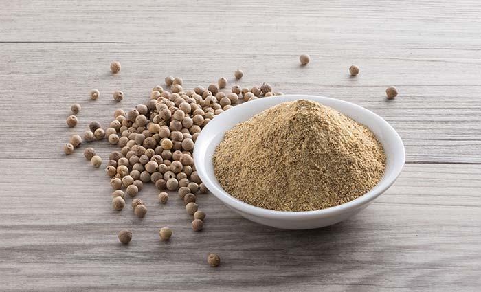 Pepper hvit finknust 500 gram