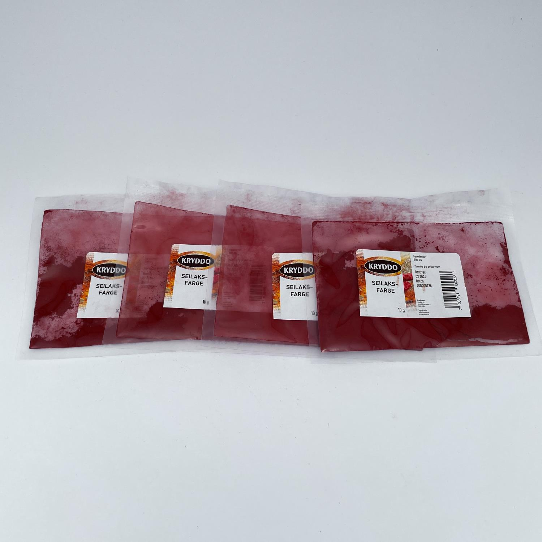 Seilaksfarge 10 gram, 4 pakker
