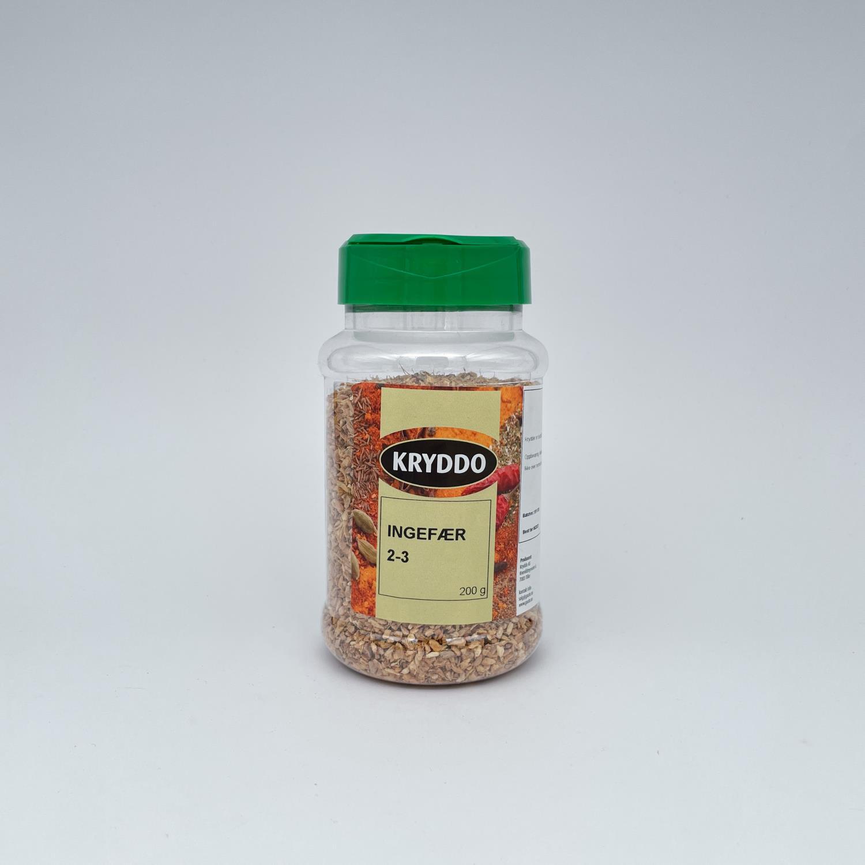 Ingefær 2-3 mm 200 gram