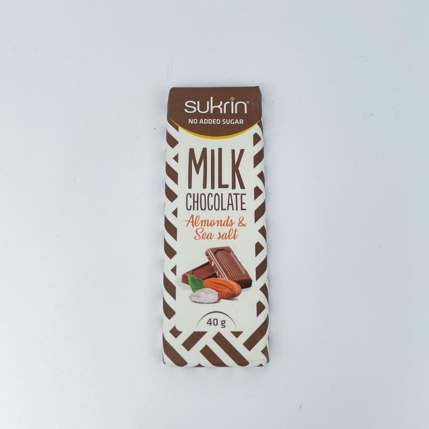 Sukrin Milk Chocolate Almonds & sea salt