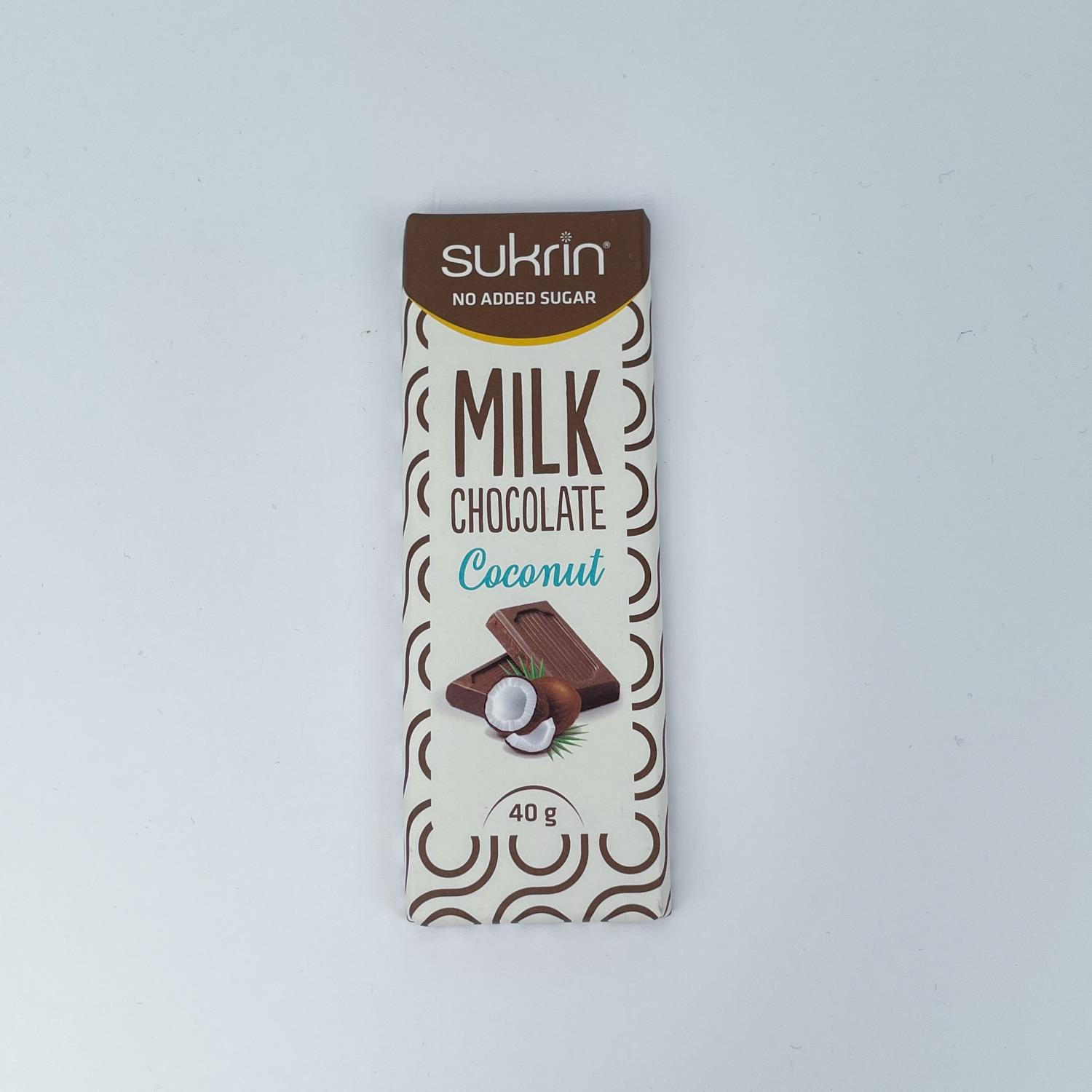 Sukrin Milk Chocolate Coconut