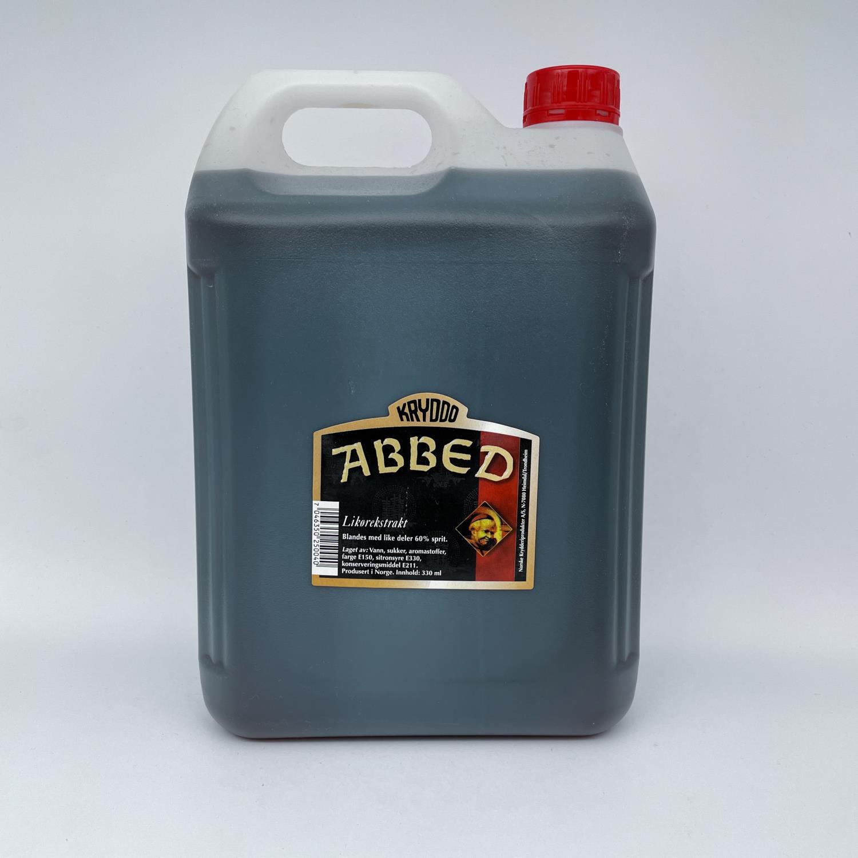 Abbed likørekstrakt 5 liter