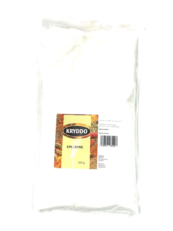 Eplesyre 500 gram