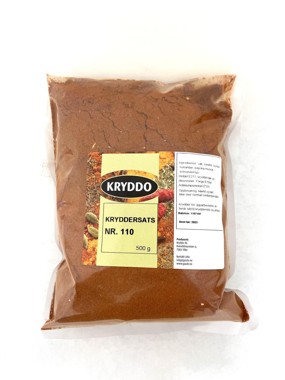 Kryddersats nr 110 for kryddersild 500 gram