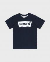 T-skjorte Levis N91004H 88Encre 04Marine SS Tee Nos Bat