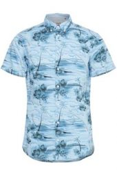 Skjorte K/arm 2070874374674 Blend