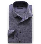 Vannucci Strykefri Bomulls-skjorte 1276 modern Fit