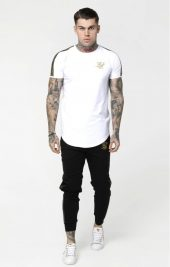 SIKSILK Gold Edit Runner Tee SS-14933