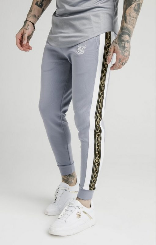 SIKSILK SS-15342 Pannelled Racer Cuffed Joggers
