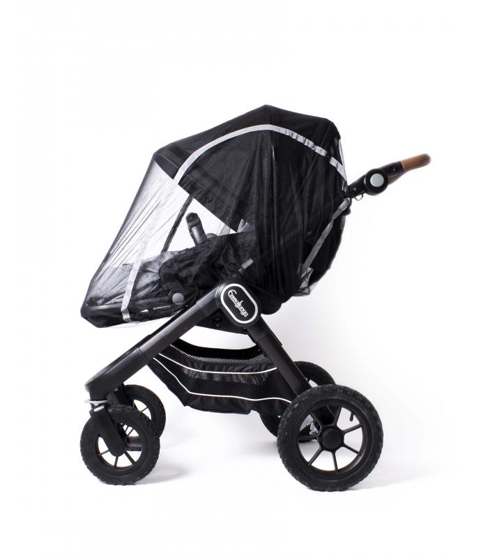 Easygrow® Mosquito net SINGLE w/Zipp. Buggy/Stroller/Carrycot