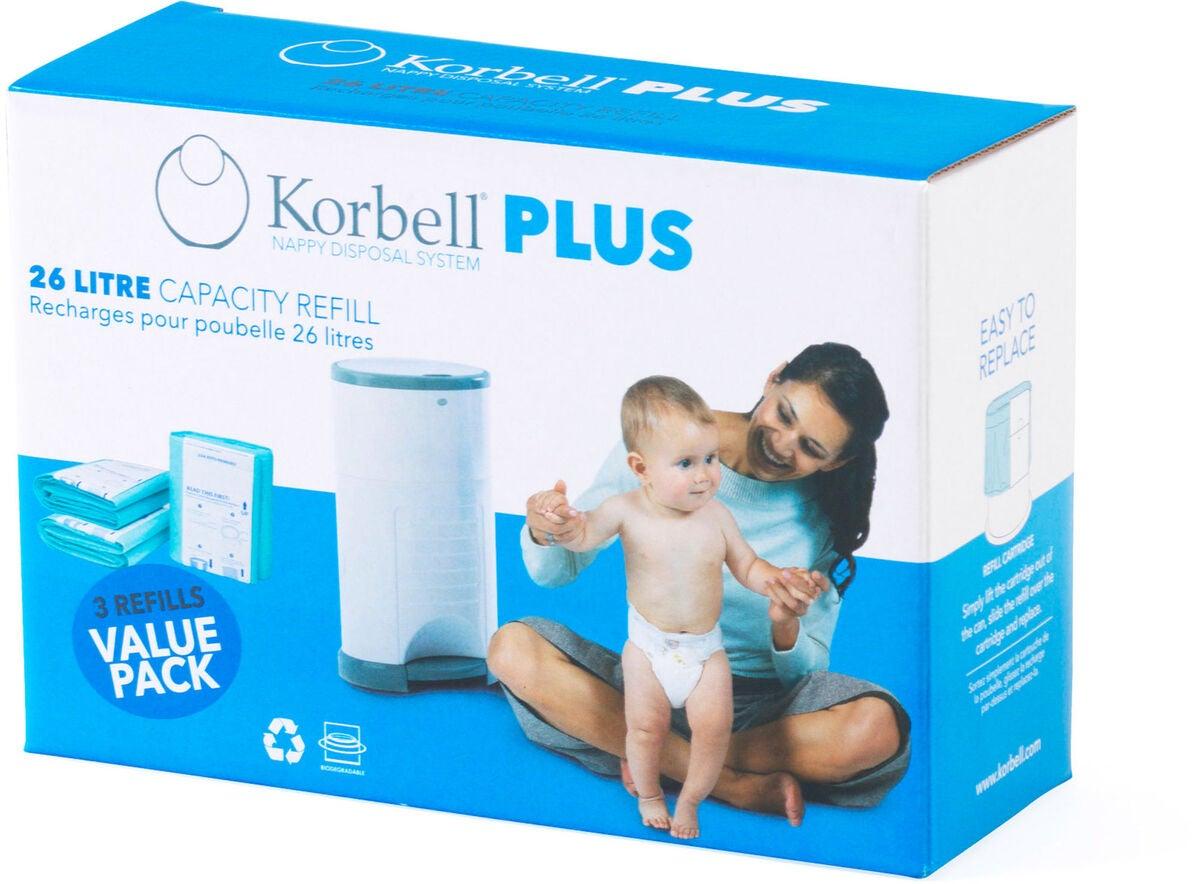 Korbell Plus refill 3pk