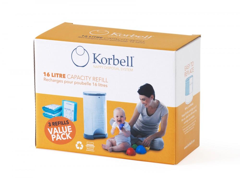 Korbell refill 3pk