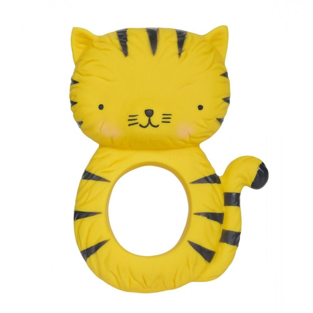 Teething ring: Tiger