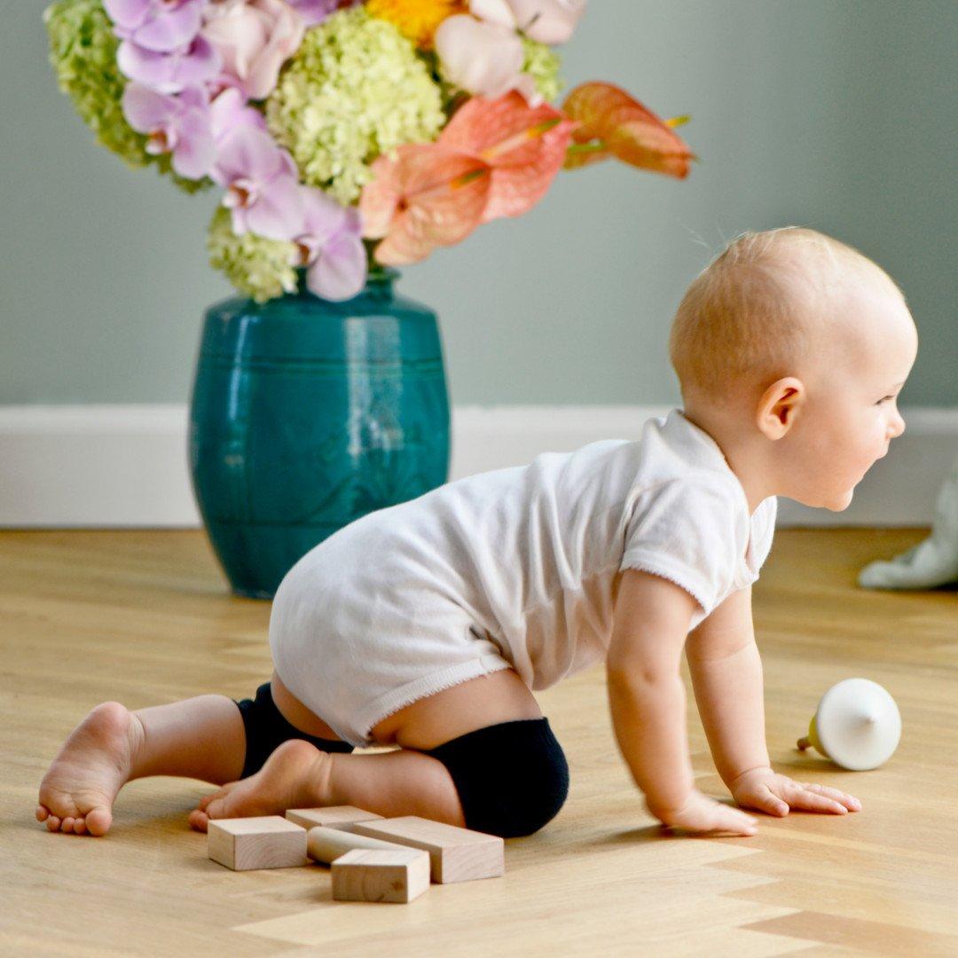 Crawling kneepads