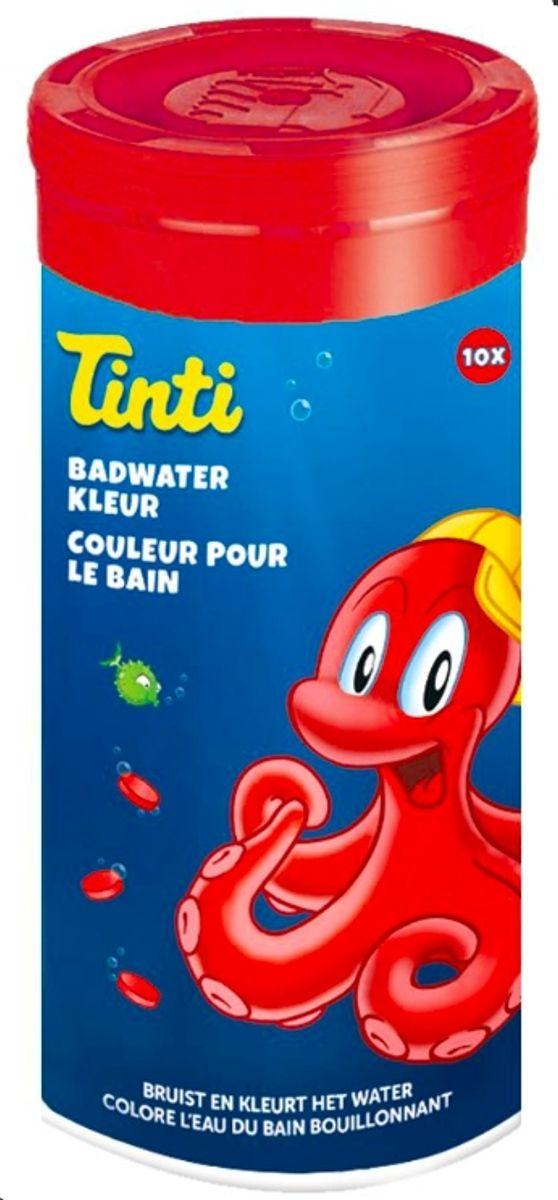 Tinti fargepatroner rød, 10 pack