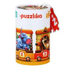 Cubika Puslespill 20 br  Tog 3+