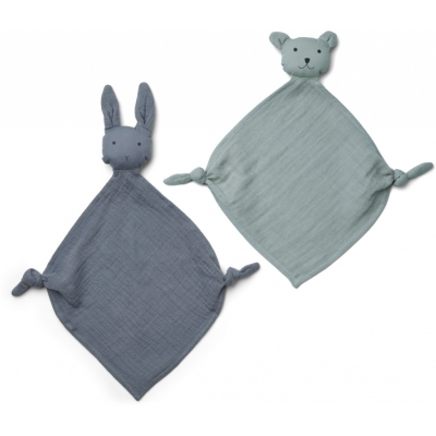 Yoko mini cuddle cloth 2-pack