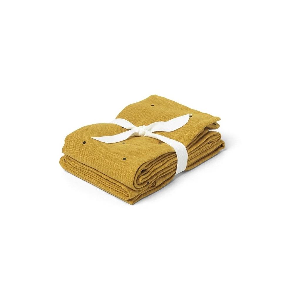Hannah muslin cloth print 2 pack