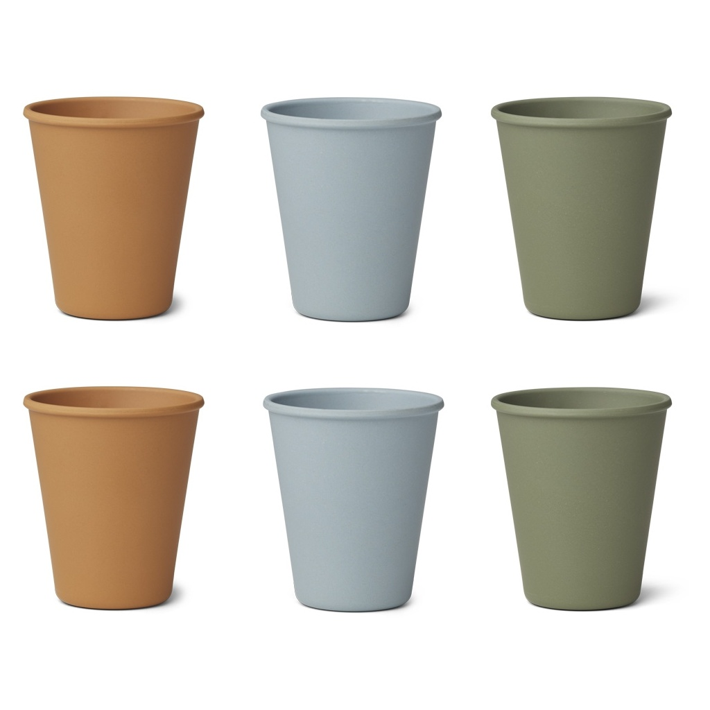 Gertrud bamboo cup 6-pack