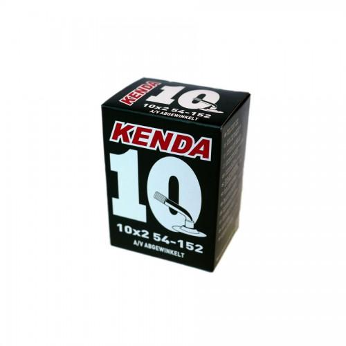 """Slange med bøyd autoventil, 10"""" hjul, Kenda"""